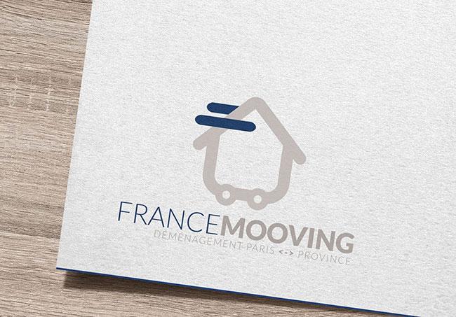 Logo France Moovine - Création de logo par Emilie Le Béhérec Prima (Graphiste freelance web et print)