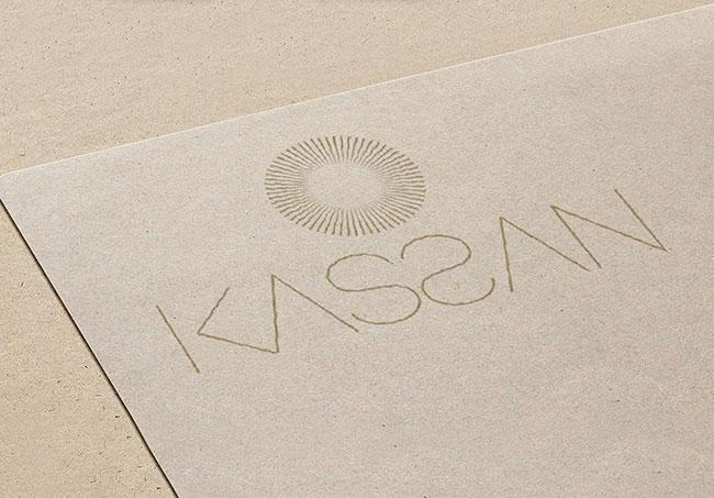 Logo Kassan - Création de logo par Emilie Le Béhérec Prima, graphiste web et print