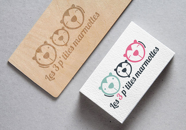 Logo Les 3 p'tites marmottes