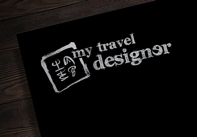 Logo My Travel Designer - Création de logos par Emilie Le Béhérec Prima, graphiste web et print