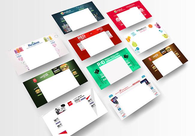 Habillages publicitaires de site via Sublime Skinz - Création d'habillages publicitaires de site par Emilie Le Béhérec, graphiste freelance depuis 2009