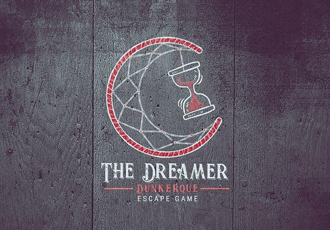 Logo The Dreamer - Création de logo par Emilie Le Béhérec Prima - Graphiste freelance web et print