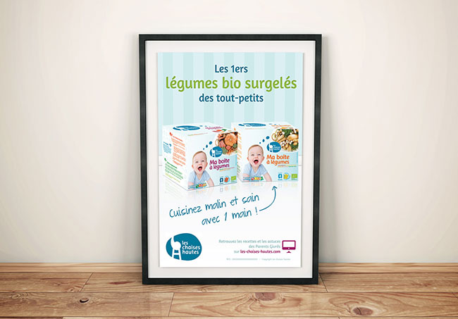 Flyer Les Chaises Hautes (Yakacéfé) - Création de flyers par Emilie Le Béhérec Prima, graphiste freelance spécialisée dans le domaine de l'enfance