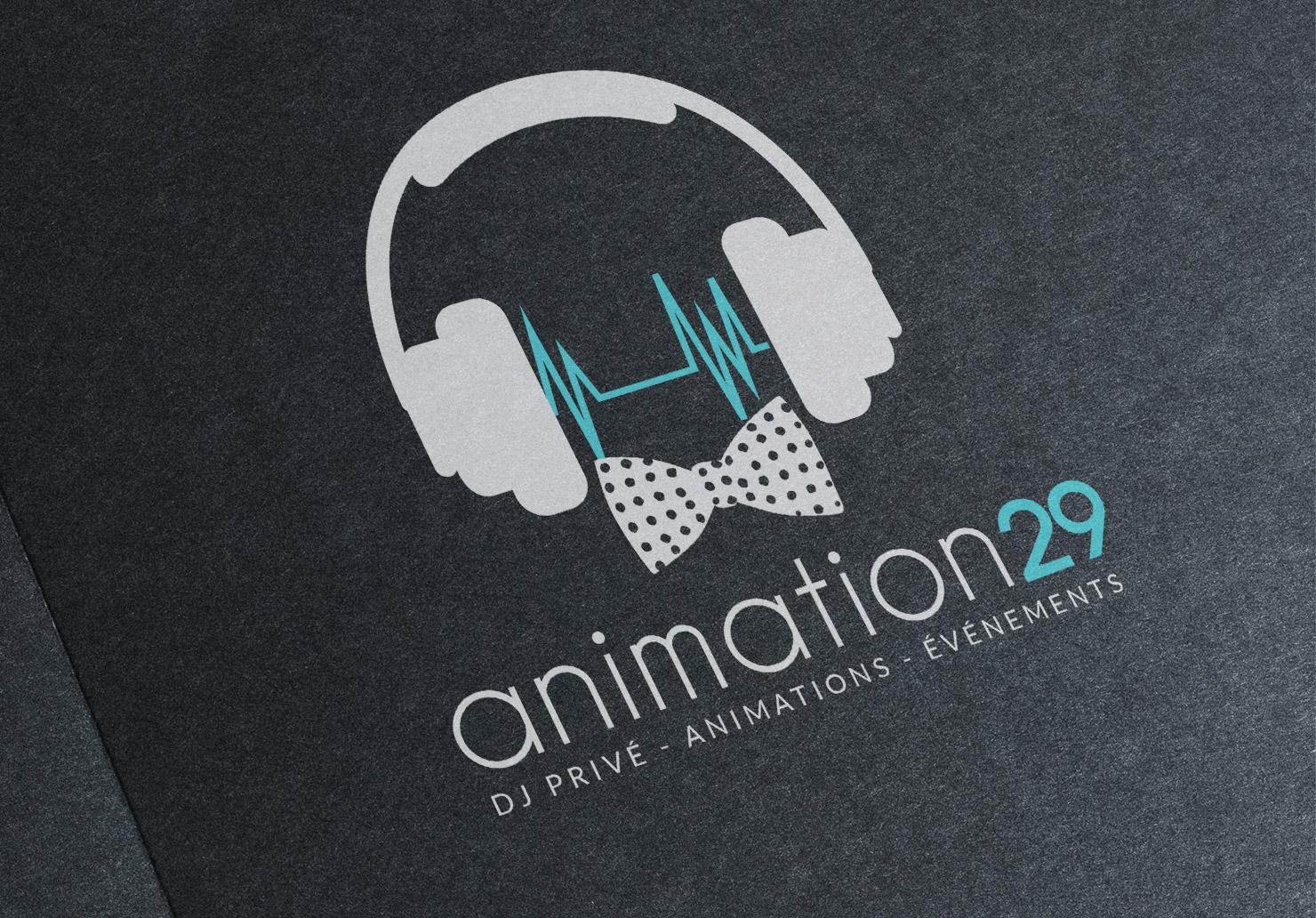 Logo Animation29 - Création de logo par Emilie Le Béhérec Prima, graphiste freelance Brest